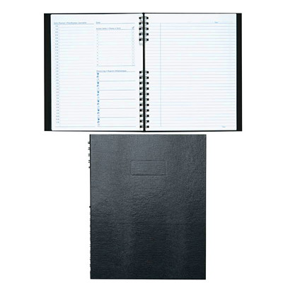 Blueline NotePro Undated Daily Planner BILINGUAL