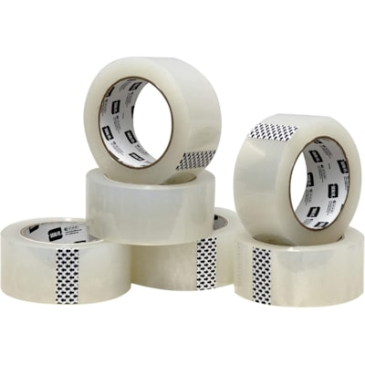 Seal-It General Purpose Packaging Tape, Clear, 48 mm x 50 m, Pack of 6 CLEAR  LIGHT DUTY PKG TAPE