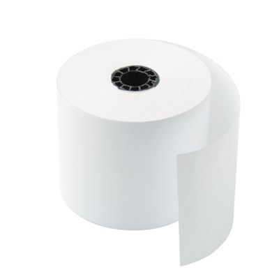 """Office Depot® Thermal Paper Rolls, 3 1/8"""" x 230', White, Carton of 50 WHITE  50/CTN"""