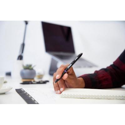 Sharpie S-Gel Ink Pens, Purple, Medium 0.7 mm, Box of 12