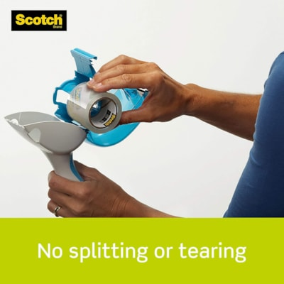 Scotch Sure Start Shipping and Packaging Tape Refills, 50.8 mm x 22.8 m, Pack of 2 48MM X 22.86M  PACKAGE OF 2