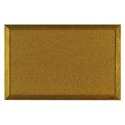 Quartet Standard Wood Frame Cork Bulletin Board  BUDGET BUY QUARTET