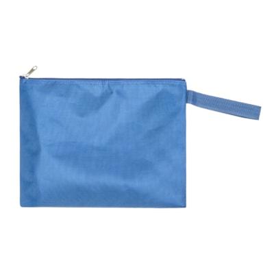 Ro-el Nylon Bank Deposit Bag TOP ZIPPER W/WRIST STRAP