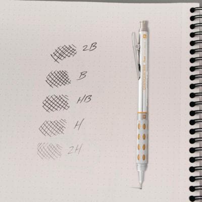 Pentel Super Hi-Polymer Lead Refills for Mechanical Pencils, B Grade, 0.9 mm, 15 Leads Per Tube 12/PK