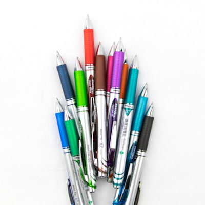 Pentel EnerGel RTX Retractable Liquid Gel Pen, Black, Medium 0.7 mm 0.7MM TIP