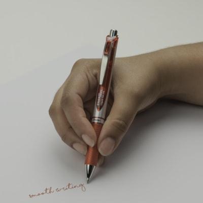 Pentel EnerGel Retractable Liquid Gel Rollerball Pen, Red, Medium 0.7 mm  ROLLER BALL PENS