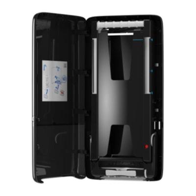 Distributeur serviette à mains Tork Elevation® Peakserve® Dispenser, Noir CONTINUOUS HAND TWL DISPR BLK DISPENSER