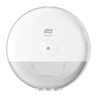 Tork SmartOne Mini Toilet Paper Roll Dispenser, White TOILET ROLL DISPENSER P/E WHT DISPENSER