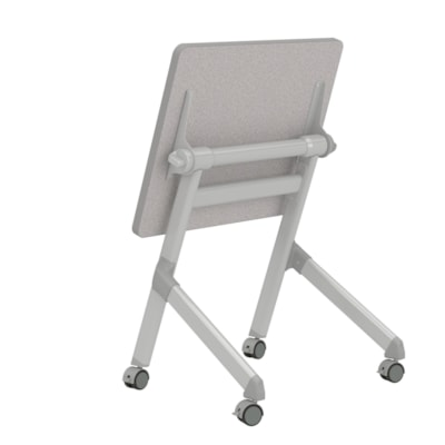 Safco Learn Bureau rectangulaire gigogne, gris, 28 po x 22 1/4 po x 29 1/2 po GREY TOP