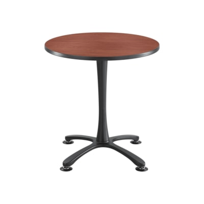 """Safco Cha Cha 29"""" Sitting Height Guest Table Base, Black, Base Only BLACK"""