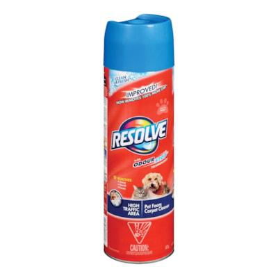Resolve High Traffic Pet Foam Carpet Cleaner, 623 g CARPET CLEANING HIGH TRAFFIC AEROSOL 623G