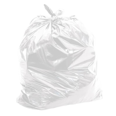 """HighMark Industrial Garbage Bags, Clear, 26"""" x 36"""", Strong Strength, Case of 200 GARBAGE BAGS  200/CASE"""