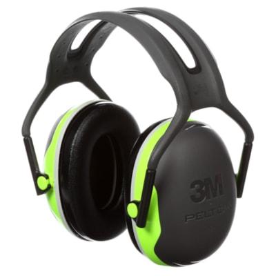 Protecteurs d'oreilles série X PELTOR 3M X4A  BLACK/GREEN