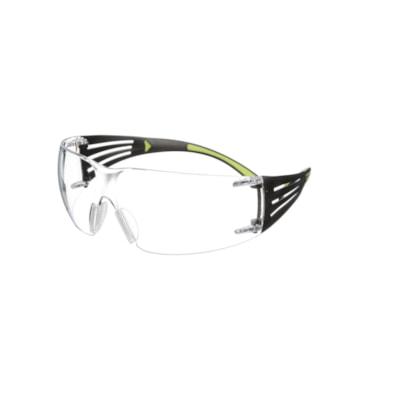 3M SecureFit Protective Eyewear, Clear Anti-Fog Lens CLEAR LENS W/BLACK TEMPLE ANTI-FOG LENS  3M