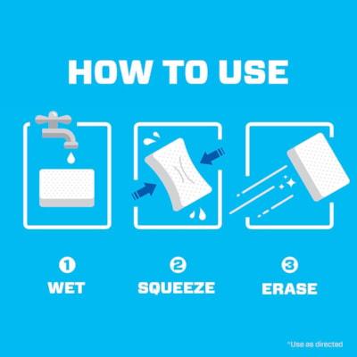Mr. Clean Original Magic Eraser Cleaning Pads, Pack of 2 MAGIC ERASER 2 COUNT