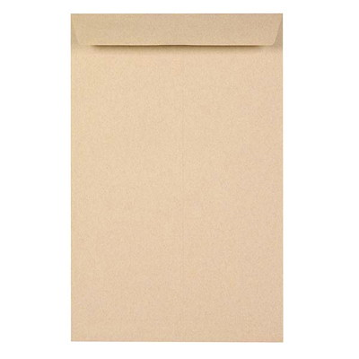 Grand & Toy Heavy Mailing Kraft Envelopes 24LB OPEN END 50% POST CONSUMR CONTENT 500/CT