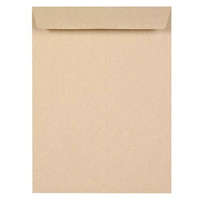 Grand & Toy Heavy Mailing Kraft Envelopes OPEN END 24LB 50% POST CONSUMR CONTENT