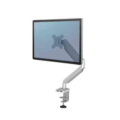 Fellowes Platinum Series Single Monitor Arm, Silver SILVER - DESK MOUNT