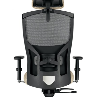 Global Alero High-Back Multi-Tilter Chair With Headrest, Black, Jenny Fabric  MESH FABRIC JENNY FABRIC FULLY ASSEMBLED GLOBAL