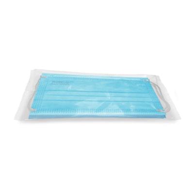 Masques plissés 3 plis pour distributeurs automatiques PRO-TEC, ASTM niveau 2, boîte de 100 5/SLEEVE PACK OF 20 SLEEVES