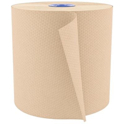 Cascades PRO Perform 1-Ply Hand Paper Towels for Tandem Dispenser, Natural, 775', Case of 6 775 FEET  NATURAL CASCADES PRO PERFORM