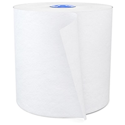 Cascades PRO Signature 1-Ply Paper Hand Towel Rolls for Tandem Dispenser, White, 775', Case of 6 7.5 IN X 775 FT  X 6 ROLLS WHITE