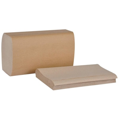 """Tork 1-Ply Universal Singlefold Hand Paper Towels, Natural, Pack of 250 Sheets, Carton of 16 FOLD 10 1/4"""" X 9 1/8"""" 250/PKG NATURAL COLOUR"""