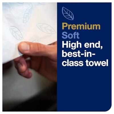 Tork 2-Ply Xpress Premium Extra Soft 4-Panel Multifold Hand Towels, White, Carton of 16 Packs 94 PER PACK 16 PER CARTON