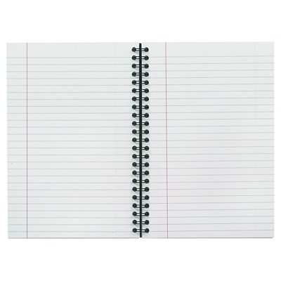 Cambridge Business Notebook 8X4-7/8IN 80 PAGE COLLEGE RULED FLEXBL LINEN COV WIREBND