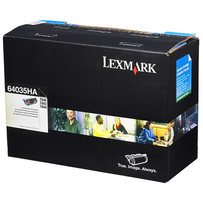 Lexmark Monochrome Black Cartridge T644 HIGH YIELD 21K