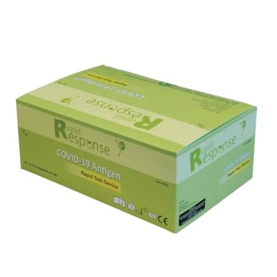 Rapid Response Covid-19 Antigen Test Kit ANTIGEN RAPID TEST DEVICE HEALTH CANADA APPROVED