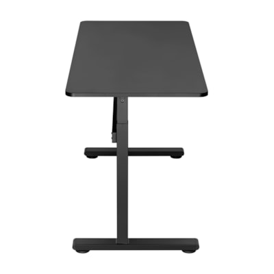 "TygerClaw 55"" Manual Sit-Stand Desk, Black k"