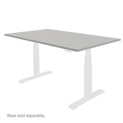 """Fellowes Levado 72"""" x 30"""" Laminate Tabletop, Grey (tabletop only)  - Grey SPECIAL ORDER"""