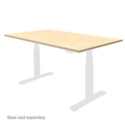 """Fellowes Levado 60"""" x 30"""" Laminate Tabletop, Maple (tabletop only)  - Maple"""