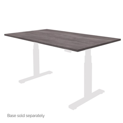 "Fellowes Levado 48"" x 24"" Laminate Tabletop, Grey Ash (tabletop only) - Grey Ash SPECIAL ORDER"