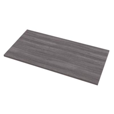 "Fellowes Levado 60"" x 30"" Laminate Tabletop, Grey Ash (tabletop only)  - Grey Ash SPECIAL ORDER"