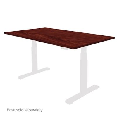 """Fellowes Levado 60"""" x 30"""" Laminate Tabletop, Mahogany (tabletop only)  - Mahogany"""