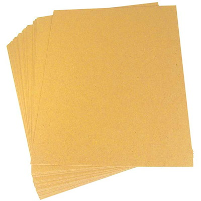 "Crownhill Kraft Brown Chipboard Padding, Letter-Size (8 1/2"" x 11"") BROWN CHIPBOARD 24PT."