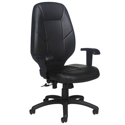 Grand & Toy 100 Series High-Back Tilter Chair FUNCTION TILTER BLACK