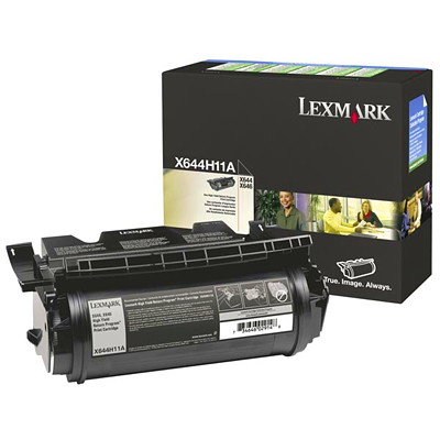 Lexmark Monochrome Black Cartridge X644  X646E RETURN CART BLACK HIGH YIELD 21K