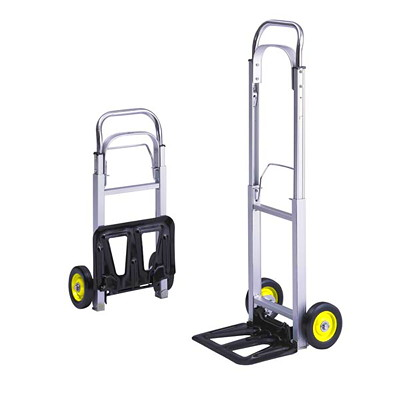 Safco Hide-Away Hand Truck 15.5X8 OPENS TO 16.5X29X43.5
