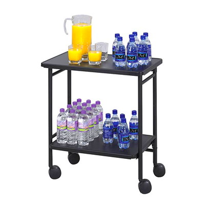 Safco folding office beverage cart grand toy for Coffee carts for office
