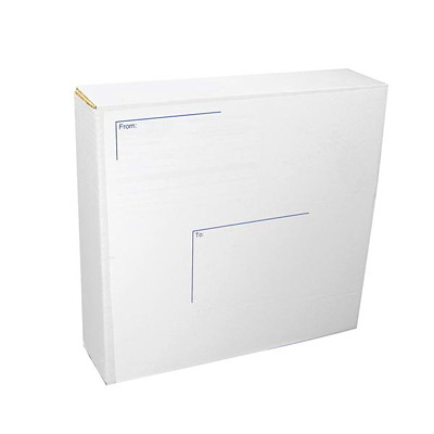 Crownhill Packaging Heavy-Duty Mailing Boxes, 5-Pack  UP TO 2IN CAP BINDERS