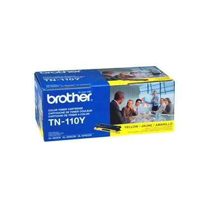Brother Yellow Standard Yield Laser Toner Cartridge (TN110Y) YIELD 1 500 FOR HL4040CN HL4050DN  MFC9440CN