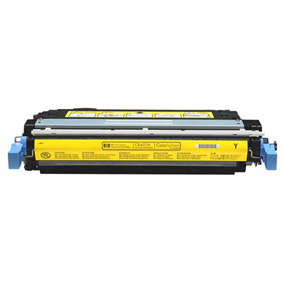 HP 642A (CB402A) Yellow Original LaserJet Toner Cartridge LASERJET TONER CARTRIDGE  YIELD ~7 500 PAGES