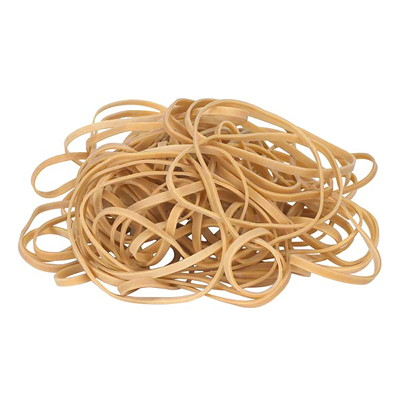 "Grand & Toy Size #24 Rubber Bands, 1/16""W x 6""L, 115/PK 6"" L X 1/16""W  115BANDS /BAG REPLACED 99007"