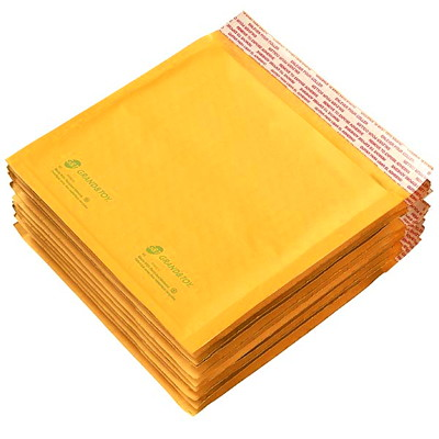 Grand & Toy Self-Adhesive Kraft Bubble Mailers