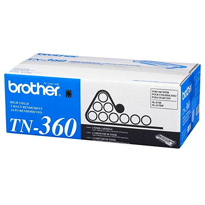 Brother Laser Toner HL2140 2170W MFC7440N 7840W BLACK HIGH YIELD 2600