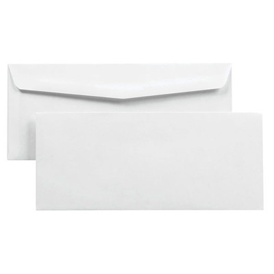 Quality Park Security-Tinted White Business Envelopes