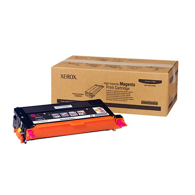Xerox 6180 Magenta High Yield Laser Cartridge HIGH YIELD 6K